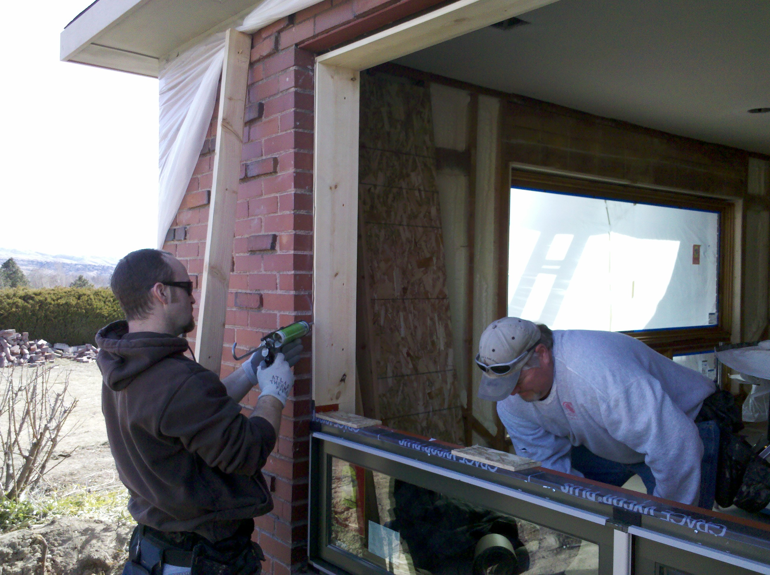How To Replace Windows In A Brick House