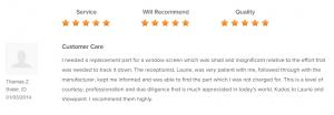Customer Testimonials 26
